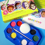 Snazaroo Rainbow Face Painting Kit (8 Colors)