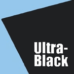 Crescent Ultra-Black Mount Board - 15 sheet Pack