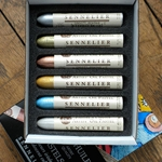 Sennelier Oil Pastels - Set of 6 Iridescent Colors