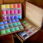 Holbein Oil Pastels Set of 225 Assorted Colors (Wooden Box)