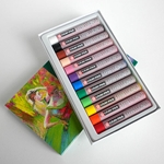 Cray-Pas Expressionist Oil Pastels Set of 12 Colors