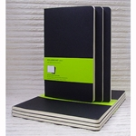 Moleskine Set of 3 Plain Journals