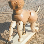 Art Alternatives Wooden Cat Manikin