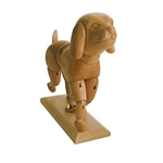 Art Alternatives Solid Wood Dog Manikin