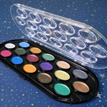Yasutomo Pearlescent Watercolor Set - 16 Colors