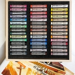 Rembrandt Pastel Set - 45 Piece Full Stick Portrait Assortment in a Wood Box