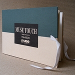 "Muse Touch 5""x7"" Hard Cover Sketch Book"