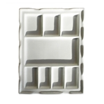 "Best Rectangular Porcelain Palette 7.5""x9.5"""