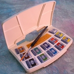 Van Gogh Watercolor Pocket Box - 12 Half Pans
