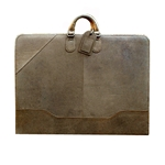 Brown Leather Portfolio
