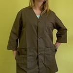 Art Smock - Mocha (Dark Brown)