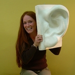 Plaster Casting - Large Ear