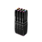 ShinHan Touch Twin Art Marker Set of 12 Pastel Colors