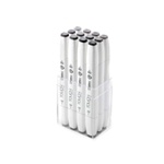 ShinHan Touch Twin Brush Marker Set of 12 Warm Grey Colors