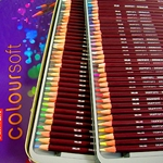 Derwent Coloursoft Pencils Set of 72