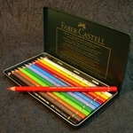 Faber Castell Polychromos Artist Colored Pencil Set of 12