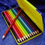 Fantasia Set of 12 Coloured Pencils