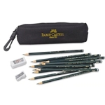 Faber Castell Artists Graphite Pencil Bag Kit
