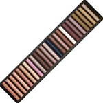 Girault Soft Pastel Sets - Skintones Set - Set of 25 Pastels