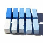 Terry Ludwig Pastels Set of 10 Ultramarine Blue Shades