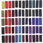 Terry Ludwig Soft Pastels Set of 60 Intense Dark Colors