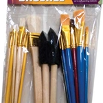 Art Alternatives Bag o' Brushes - 25 Brushes