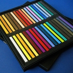 Jack Richeson Assorted Semi Hard Square Pastels Set of 36