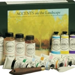 Gamblin Accents on Landscape Oil Painting Set
