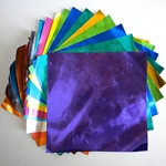 Embossed Color Foil Origami Paper