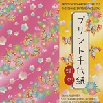Origami Paper - Butterfly Print Chiyogami