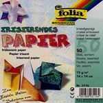 Origami Paper - Iridescent Crystal Embossed