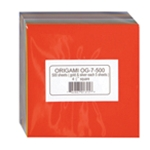 "Solid Color Origami - Bulk Pack of 500 4-1/2"" sheets"