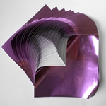"Foil Origami Paper - Grape 3.5"" Square 100 Sheets"