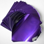 "Foil Origami Paper - Purple 3.5"" Square 100 Sheets"