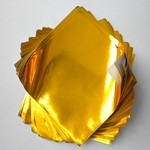 "Foil Origami Paper - Gold 12"" Square 24 Sheets"