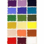 Great American Pastels - Assorted Color Set - 18 Handmade Soft Pastels