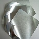 Origami Paper - Silver Metallic Assortment