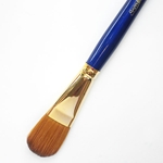 Robert Simmons Sapphire Brushes - Short Handle Oval Washes