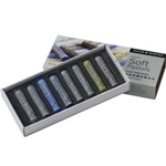 Daler-Rowney Soft Pastels - Cool Selection Set of 8