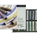 Daler-Rowney Soft Pastels - Cool Selection Set of 16