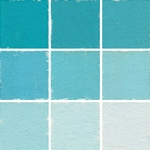 Roche Pastel Values Sets of 9 - Turquoise 5810 Series