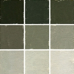 Roche Pastel Values Sets of 9 - Willow Green 6240 Series