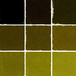 Roche Pastel Values Sets of 9 - Olive Green 6620 Series