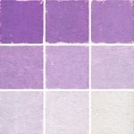 Roche Pastel Values Sets of 9 - Violet de Cobalt Fonce 8150 Series