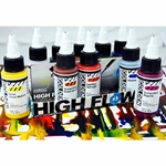 Golden High Flow Set of Ten Assorted 1 fl. oz. (30ml) Colors