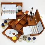 Schmincke Horadam Aquarell Wood Box Deluxe Set of 36 Colors