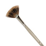 Connoisseur Badger Fan Brush - Size 2