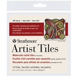 "Strathmore Artist Tiles - Watercolor 4""x4"" 10 Tiles"