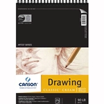 Canson Classic Cream Drawing Pads