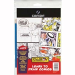 Canson Fanboy Learn to Draw Comics
